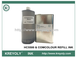 Ricarica inchiostro compatibile ComColor per HC5500 e COMCOLOUR nero